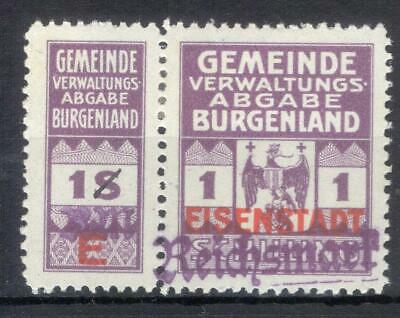 Austria Germany local revenue Eisenstadt MH RM currency Stempelmarke fiscal