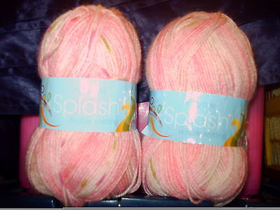 King Cole SPLASH BABY  WOOL  -STRAWBERRY 200g