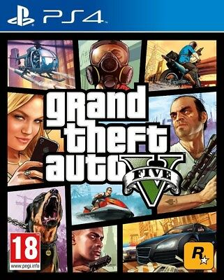 GTA 5 Grand Theft Auto V ps4 Digital*
