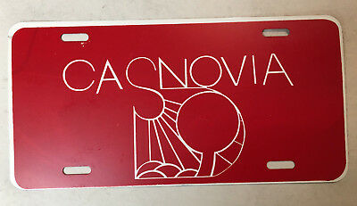 Casnovia Michigan Front Promotional License Plate (De Tour}