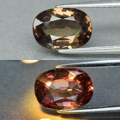 Rare! 2.17ct 9x6.5mm Oval Natural Unheated Color Change Garnet, Africa