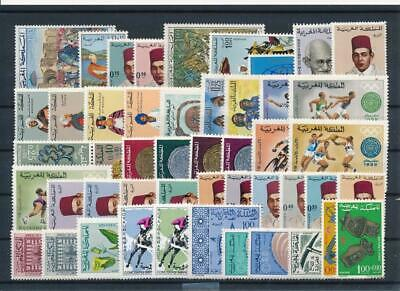[G43186] Morocco Good lot Very Fine MNH stamps