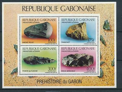 [16052] Gabon 1990 : Minerals - Good Very Fine MNH Sheet