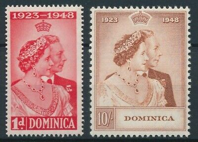 [51188] Dominica 1948 good set MNH Very Fine stamps