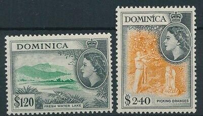 [51189] Dominica 1953 lot 2 good MNH Very Fine stamps $40