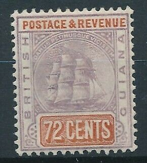 [51374] British Guiana 1889 good MH Very Fine stamp $45
