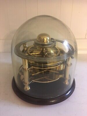Vintage Astrolabium Skeleton Clock Astrological Made In England Wind 11 Jewel