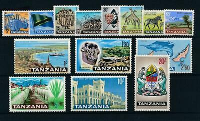 [51730] Tanzania 1965 good set MNH Very Fine stamps $40