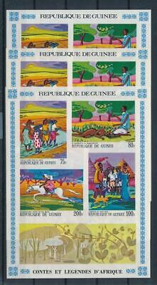 [G47889] Guinea 1968 : 3x Good Very Fine MNH Imperf Sheets