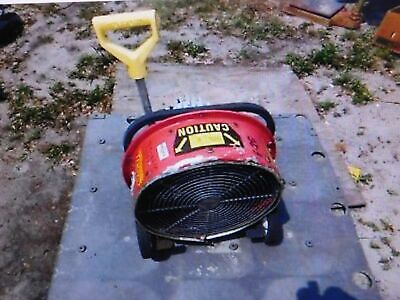 """Tempest 16"""" Power Blower Smoke Extractor Electric Fire Department Orlando"""