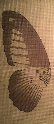"Needlepoint canvas ""Butterfly wing"" #BU2"
