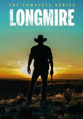 Longmire: The Complete Series Seasons 1-6 Box Set (Brand New, DVD, 15-Disc)