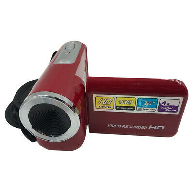 16MP Digital Camera DV Camcorder 2.0″ LCD 4X Zoom+USB Cable Kids Children Gift