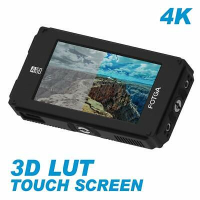 "FOTGA A50TLS 5"" FHD Video Touch Screen Monitor 3D LUT 3G SDI HDMI 4K 1920x1080P"