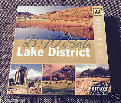 Mini Guide Lake District AA Automobile Association Book 2nd Edition RRP £4.99