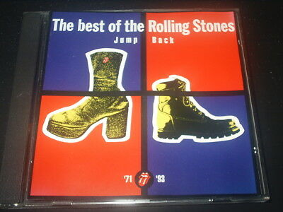 THE ROLLING STONES CD Album JUMP BACK Best of 1971-1993 Remastered EXCELLENT Cd