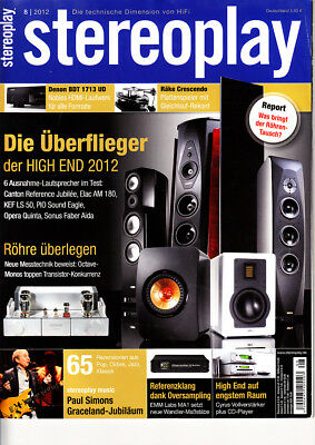 Stereopl.8/12 KEF LS 50,Canton Reference Jubilee,Sonus Faber Aida,EMM Labs MA 1