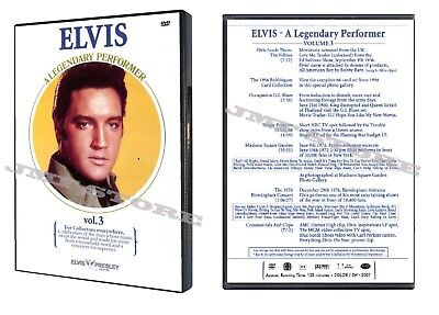 Elvis Presley A Legendary Performer Volume 3 Dvd