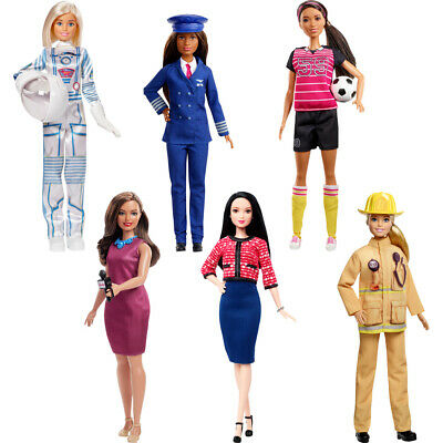 Barbie 60th Anniversary Doll Choose Firefighter, News Anchor or Astronaut