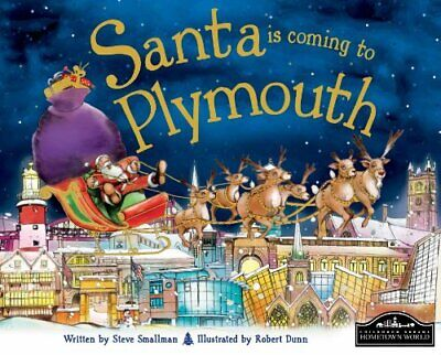 Santa is Coming to Plymouth New Hardcover Book Steve Smallman and