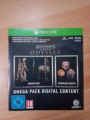 Assassin's Creed Odyssey Omega Pack Edition | XBox One | Download Code / Key DLC