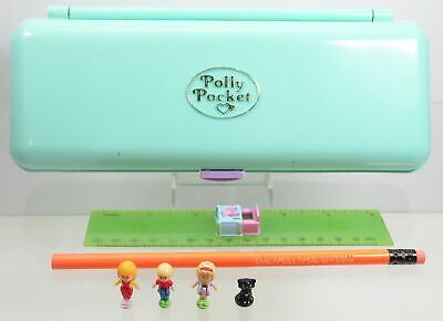 1990 Polly Pocket Vintage Pencil Case Bluebird Toys