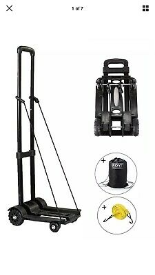 Royi Hand Cart Truck Folding 4 Wheels Luggage 70kg 155 Lbs Preowned Dolly