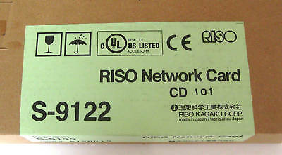 Riso EZ Network Card S-9122 For EZ Models NEW