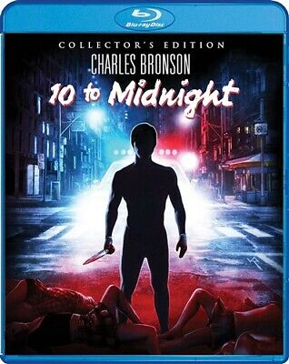 10 TO MIDNIGHT New Sealed Blu-ray Collector's Edition Charles Bronson