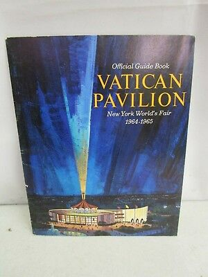 Official Guide Book Vatican Pavilion New York World's Fair 1964-1965