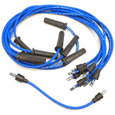 UIW 129 CHRIS Craft Mallory Side Terminal Spark Plug Wire Set Mallory Spark Plug Wires on
