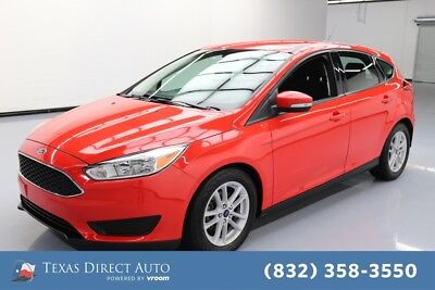 2017 Ford Focus SE Texas Direct Auto 2017 SE Used 2L I4 16V Automatic FWD Hatchback