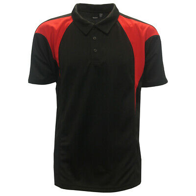 Reebok Golf Men's PlayDry Color Block Polo Shirt,  Brand New