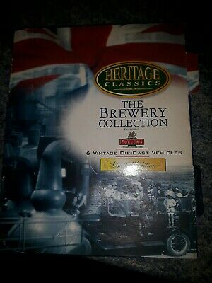 6 Vintage Fullers Die Cast Vehicles From The Brewery Collection