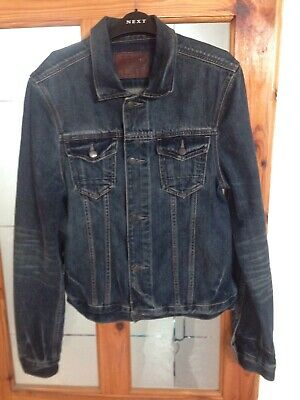 ALL SAINTS DENIM Jacket Medium - £18.99  b3867a3f3