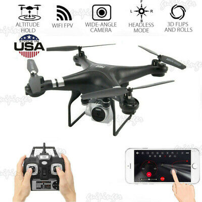 2.4G 6-Axis Gyro Drone x pro RC Quadcopter with 1080P HD Camera Drone FPV USA