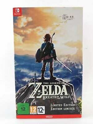 NINTENDO SWITCH THE LEGEND OF ZELDA Breath Of The Wild Limited Edition NEU OVP