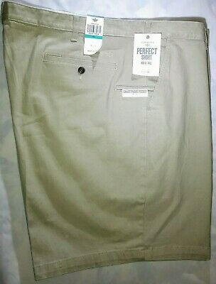 Dockers Perfect Short Big & Tall Pleated Shorts Beige Size 46 Free S/h