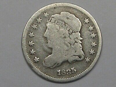 1835 US Capped Bust Half Dime.  #1