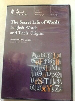 The Secret Life Of Words English Words And Their Origins Anne Cruzan DVD Rom