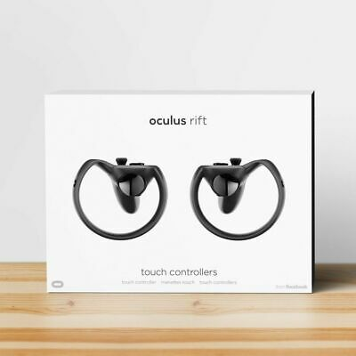Oculus Rift Touch Motion Controllers - Black - FREE SHIPPING