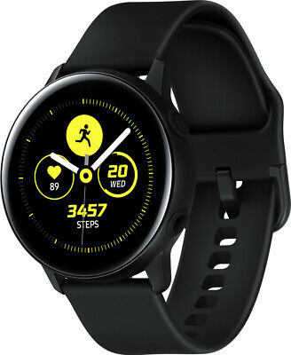 Samsung Galaxy Watch Active R500 - Black 4GB (Bluetooth 4.2) Smartwatch