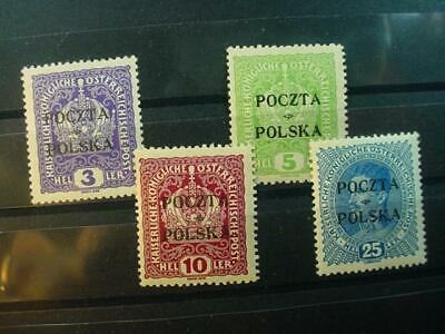 NobleSpirit NO RESERVE Exciting POLAND Cracow= $1820 SIGNED TWICE! Choice VF MLH