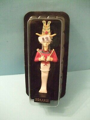 Ancient Egypt Egyptian God  figurines resin statue SOKARIS by HACHETTE