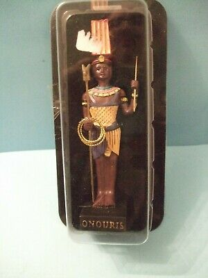 Ancient Egypt Egyptian God  figurines resin statue ONOURIS by HACHETTE