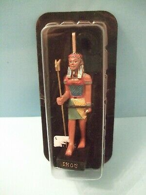 Ancient Egypt Egyptian God  figurines resin statue SHOU by HACHETTE