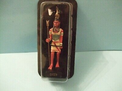 Ancient Egypt Egyptian God  figurines resin statue GHEB by HACHETTE