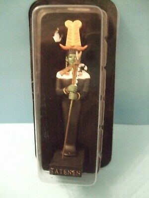 Ancient Egypt Egyptian God  figurines resin statue TATENEN by HACHETTE