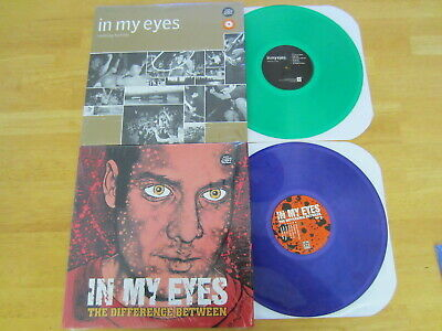 IN MY EYES Difference Between (PURPLE) / Nothing (GREEN) 2 LP LOT UNPLAYED