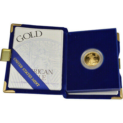 1995-W American Gold Eagle Proof (1/4 oz) $10 in OGP